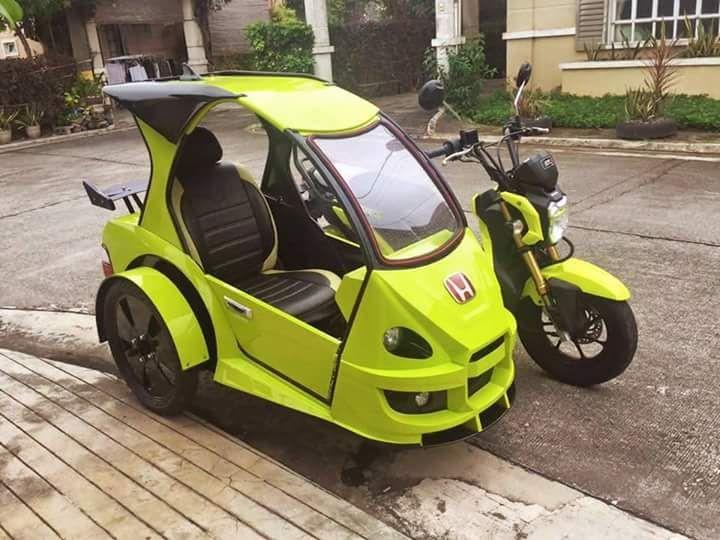 Thoughtskoto In 2020 Sidecar Scooter Bike Honda Grom