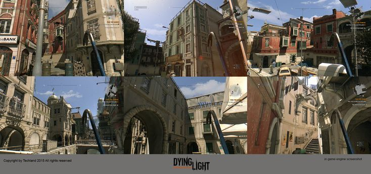 ArtStation - Few things that I've made for Dying Light, Krystian Golebczyk