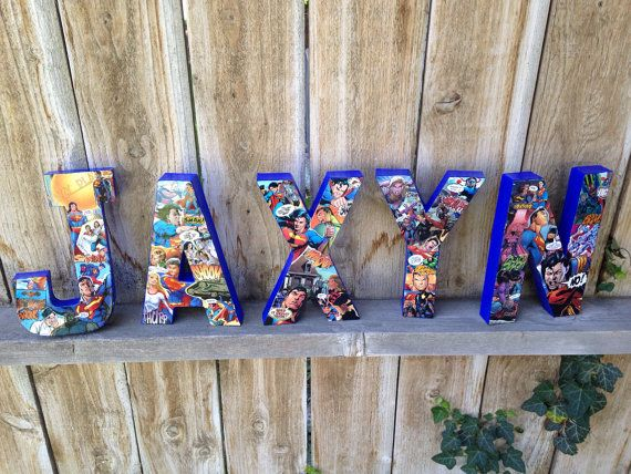 Custom Handmade All Things Superman Comic by TheLittleThingsHouse
