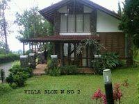Villa minimalis untuk keluarga di lembang