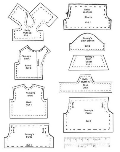The 248 best patterns dolls clothes images on Pinterest | Baby doll ...