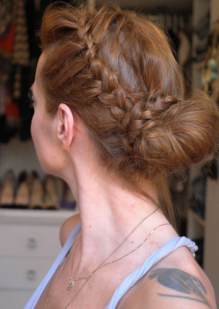 Penteado com trança