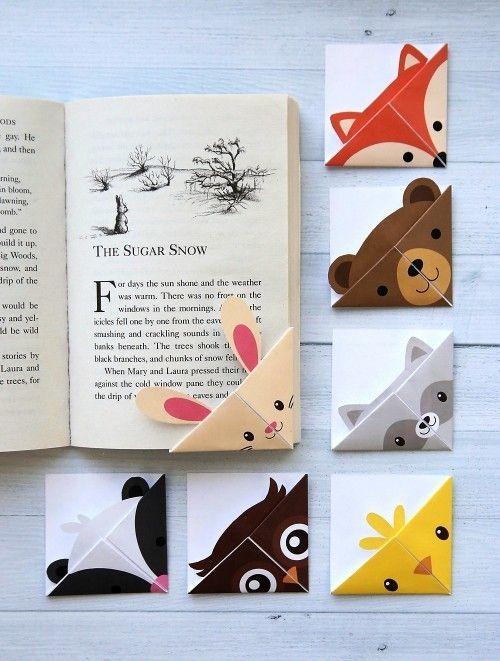 Aus 90 frischen Ideen ein Lesezeichen für begeisterte Bücherwürmer machen
