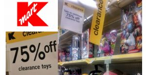 Kmart: Take an Additional 75% off Clearance Toys