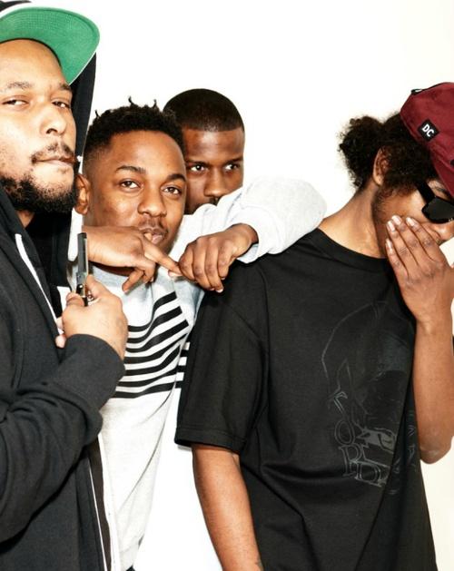 TDE Black Hippy  Kendrick Lamar, Ab-Soul, Schoolboy Q, Jay Rock