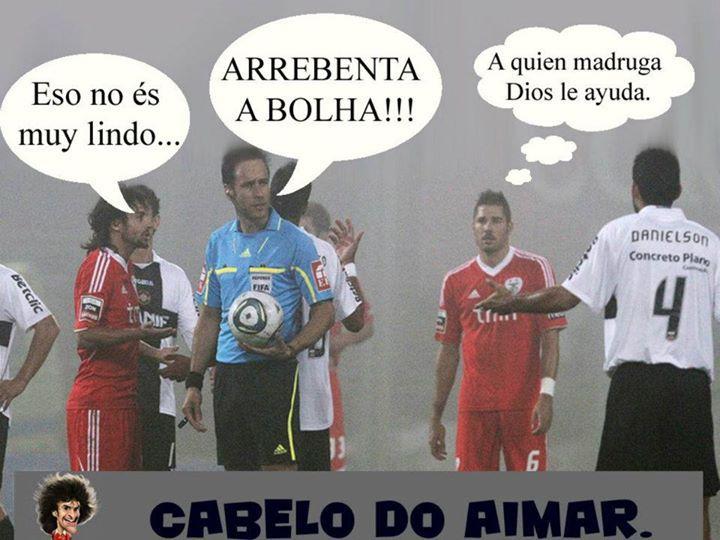 Nacional - Benfica 2011/12 Interrompido - Nevoeiro - Artur Soares Dias