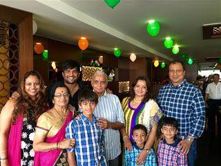 R Madhavan celebrates father's 75th birthday in Chennai!  http://spanishvillaentertainment.blogspot.com/2016/08/r-madhavan-celebrates-fathers-75th.html