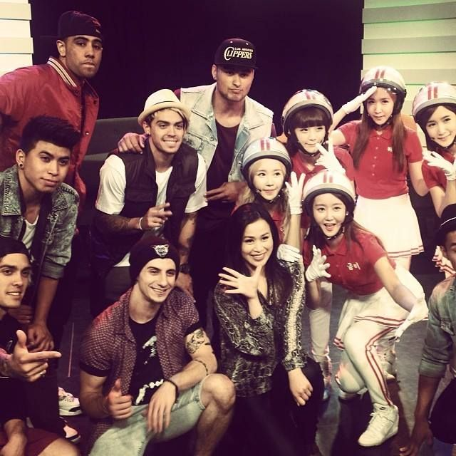 'Dancing Queens' Crayon Pop and Australia's very own Justice Crew & Jamaica dela Cruz!
