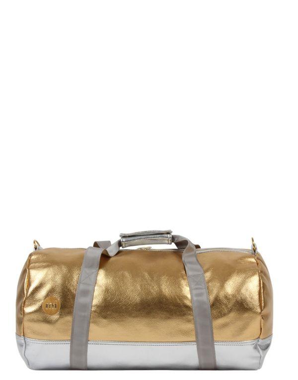 Mi-Pac Gold Duffel - 24k Gold/Silver