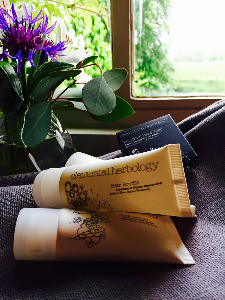 There is nothing nicer than #pampering yourself with @ElementalHerb during your stay at #watermeadowcottage #hairsouffle #deepcleanser #soap