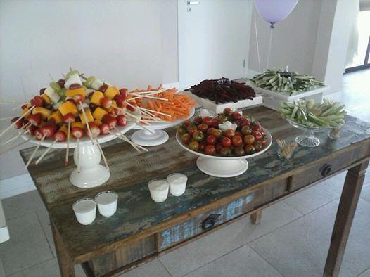 frutas nas festas infantis
