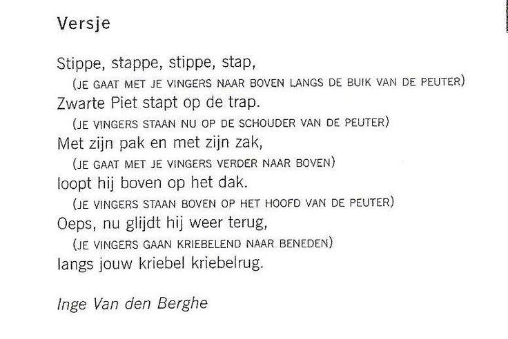 Versje 'Stippe stap'