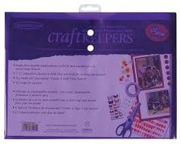 "CRAFT KEEPERS - 85595 - SNAP CLOSURE ENVELOPE - Måler;8.5""X11"" Oppbevaringsmappe til ulike prosjekter og papirarbeid. Syrefritt materialet.M: 8.5""X11"". Assortere farger. PRODUKTET FINNER DU HER: http://www.kreativscrapping.no/products/craft-keepers-85595-snap-closure-envelope FORVENTET INN UKE 20.  Made from durable polypropylene, acid- free, waterproof, and feature a secure double snap closure. Each envelope has 1-1/2in expansion capacity to hold whatever you need for your craft projects. 1…"
