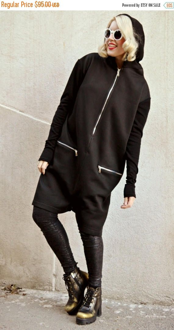 Just in: SALE 25% OFF Funky Loose Jumper Pants / Extravagant Short Jumpsuit / Oversize Jumpers / Black Loose Hoodie / Hooded Jumper TJ14 / Spring 201 https://www.etsy.com/listing/263988128/sale-25-off-funky-loose-jumper-pants?utm_campaign=crowdfire&utm_content=crowdfire&utm_medium=social&utm_source=pinterest