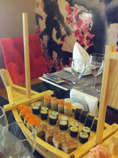 Sushi @ Hotel Delphin Imperial, Turkey