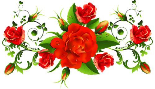 Шикарные розы - клипарт png. Обсуждение на LiveInternet - Российский Сервис Онлайн-Дневников