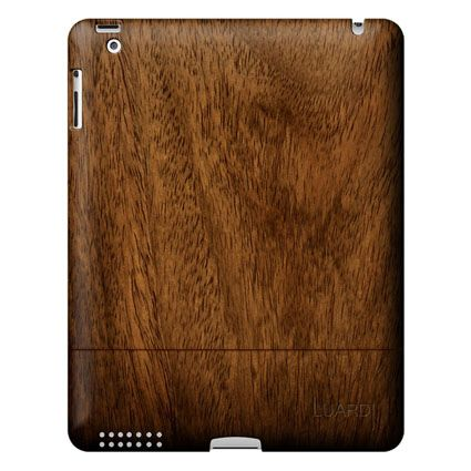 Black Walnut Wooden Case for iPad 2 $199.95