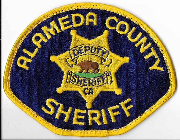 Alameda County Sheriff's Office, California Shoulder Patch • $2.50 - PicClick