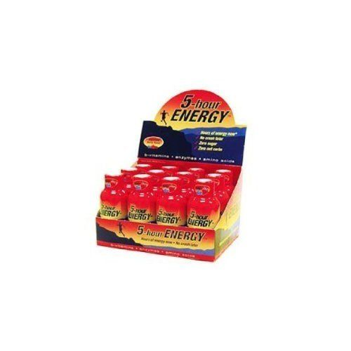 5-hour Energy 5 Hour Energy Berry 2-Ounce Bottle (Pack of 12)