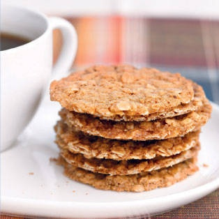 Oatmeal Crisps | Cookies-Cakes and Yum | Pinterest
