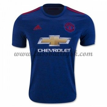 Premier League Fussball Trikots Manchester United 2016-17 Auswärtstrikot Kurzarm