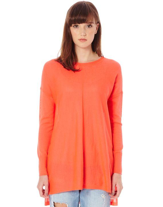Merino Blend Oversized Sweater