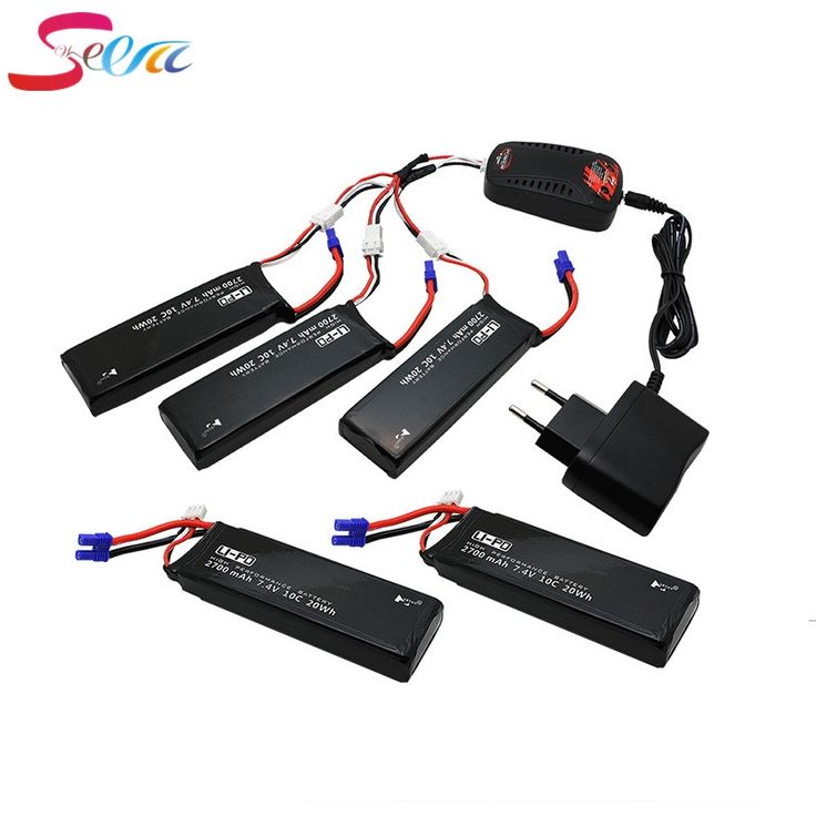 72.28$  Buy now - Hubsan H501S lipo battery 7.4V 2700mAh 10C 5pcs Batteies with cable for charger Hubsan H501C rc Quadcopter Airplane drone Spare  #buyonline