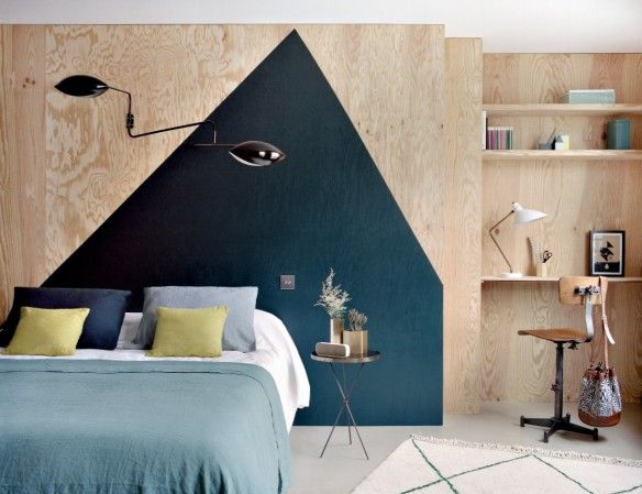 les 25 meilleures id es concernant mur g om trique sur pinterest art de mur g om trique bande. Black Bedroom Furniture Sets. Home Design Ideas