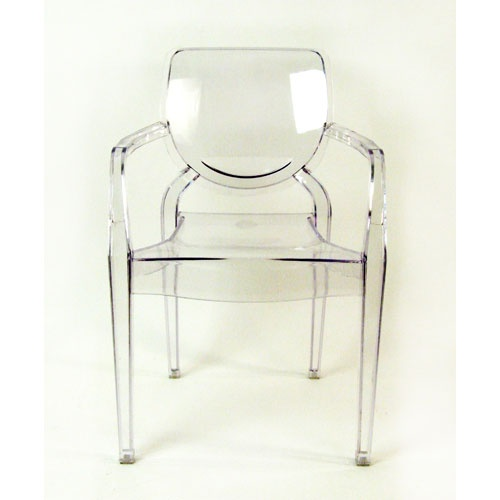 Clear Chair 22.8 Inches High Control Brands Arm Chairs Accent Chairs Accent Furniture
