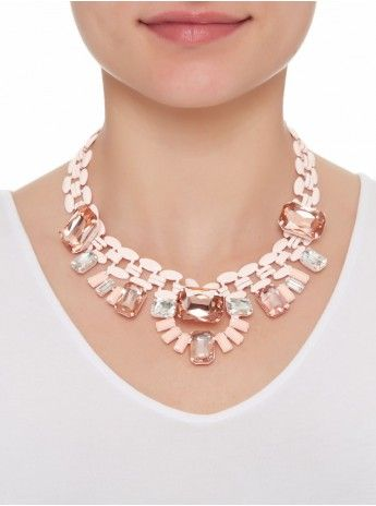 Candy Necklace Pale Pink 230