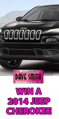 Win a jeep cherokee enter dave smith motors 39 jeep for Dave smith motors jeep