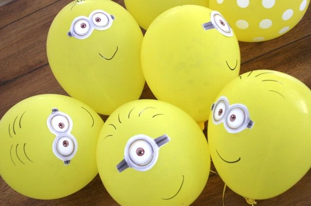"Photo 15 of 20: Minions / Birthday ""Minion (Despicable Me) Party"" 
