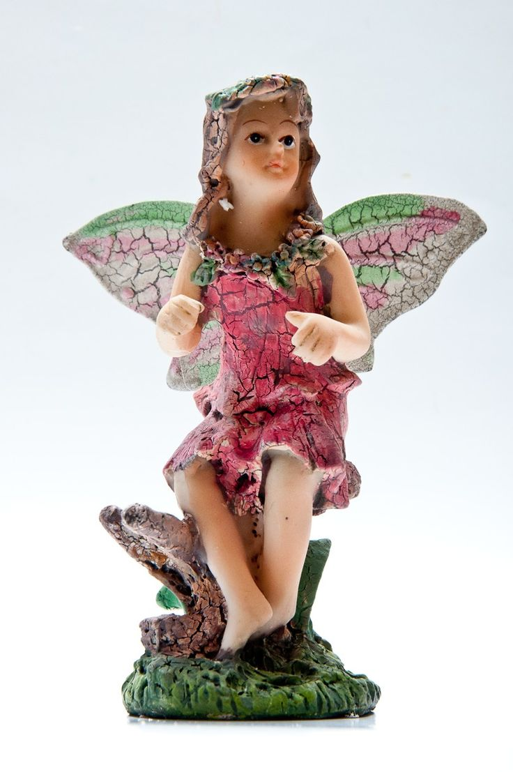 Fairy with hand in the air