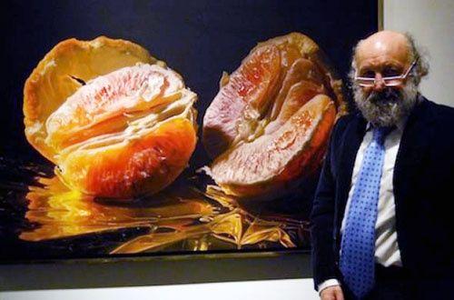 Luigi Benedicenti hyperrealistic food paintings