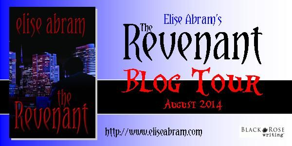 THE REVENANT's on tour for the month of August! Blog tour banner.