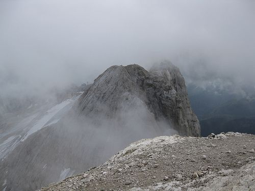Marmolada summit view