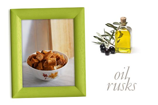 Olive Oil Rusks, Kythira Island, Greece