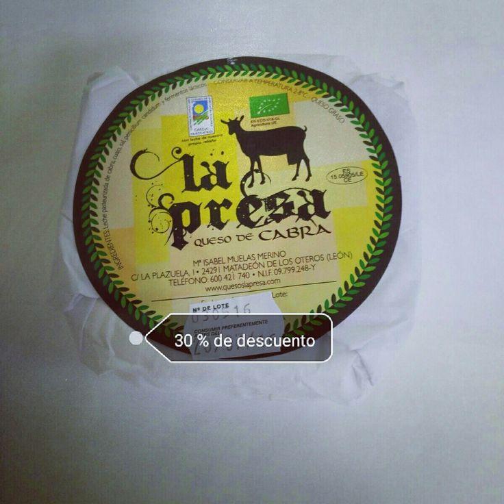 30% dto en quesos de cabra ecologicos la presa www.camposdealoe.es