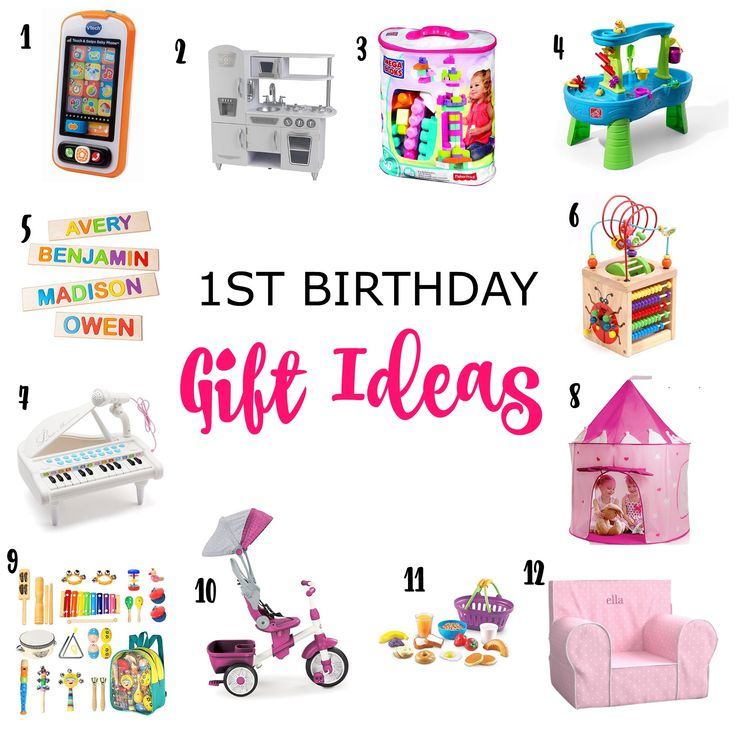 1st Birthday Gift Ideas (With images) 1st birthday gifts