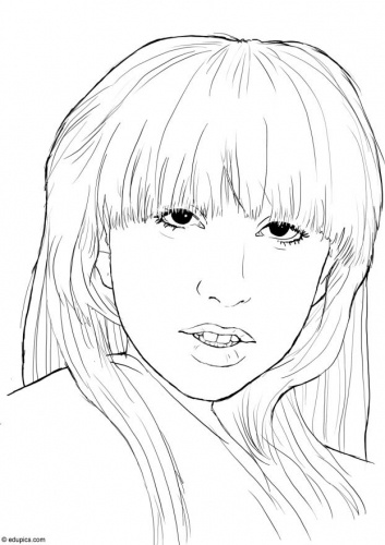 34 best images about Famous people CoLoRing Pages on Pinterest