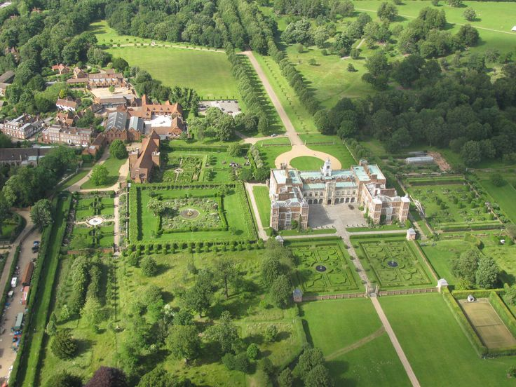 Hatfield House In England