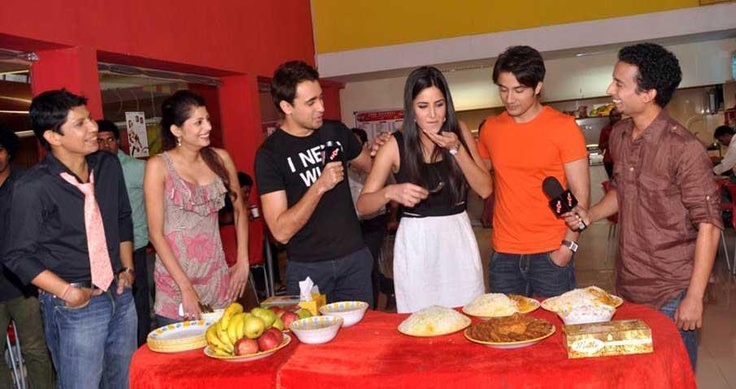 Katrina, Imran and Ali Zafar celebrating Eid at zoOm