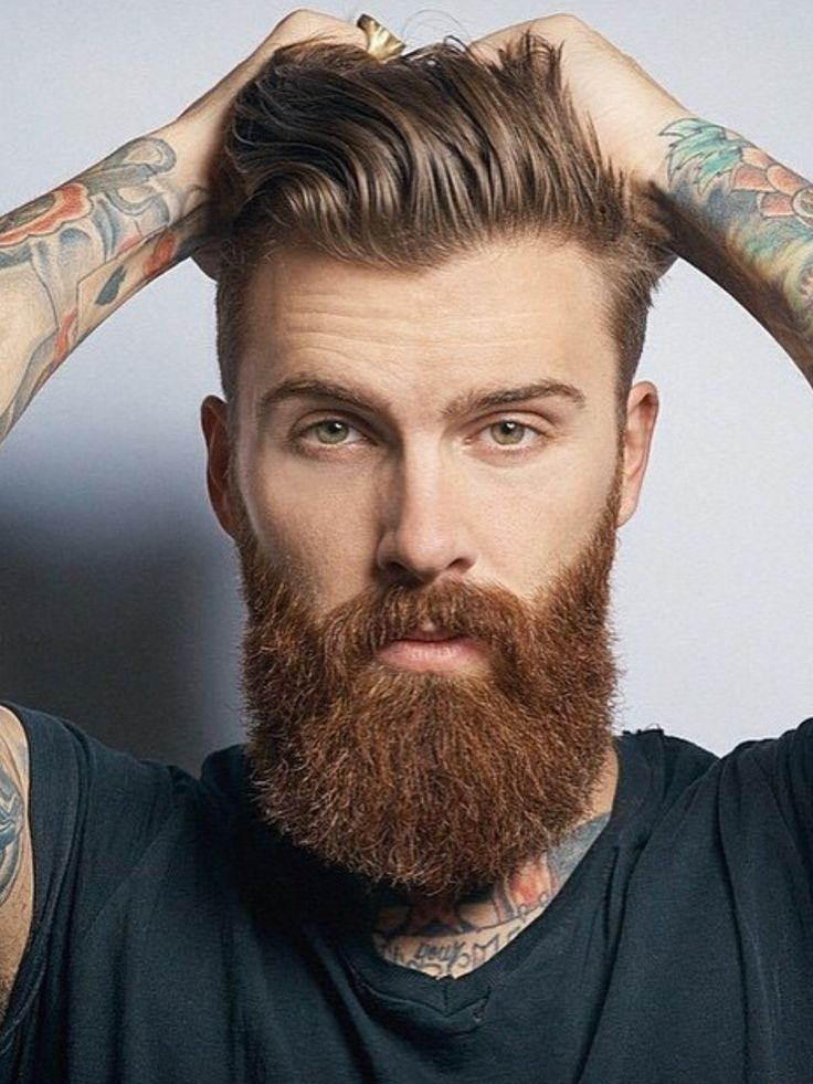 Mens Hairstyle And Beard 81 Best Hairstyles With Beards Images On Pinterest  Beard Styles