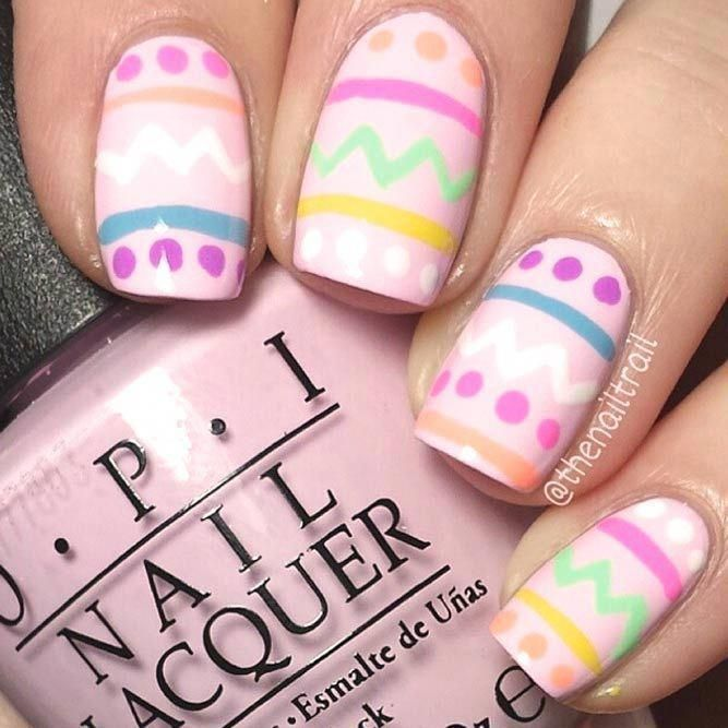 Top Easter Nail Trends 2018 – #easter #trends – #Genel #easternail