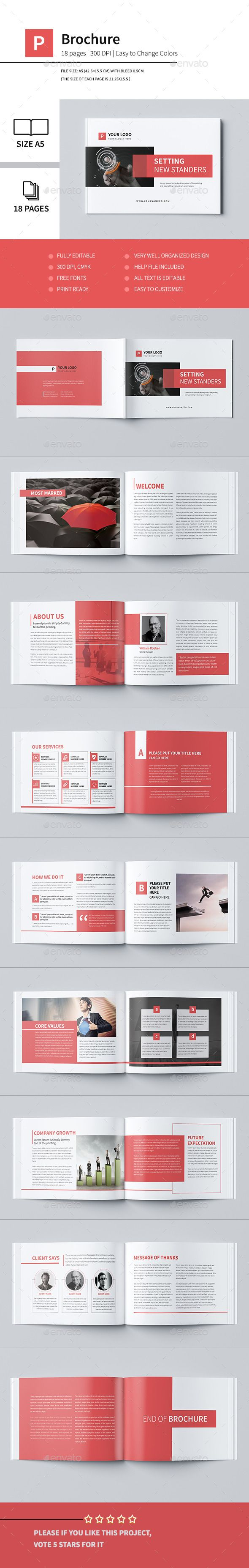 Minimal Business Brochure Template #brochure #design Download: http://graphicriver.net/item/minimal-business-brochure-iv/12598474?ref=ksioks