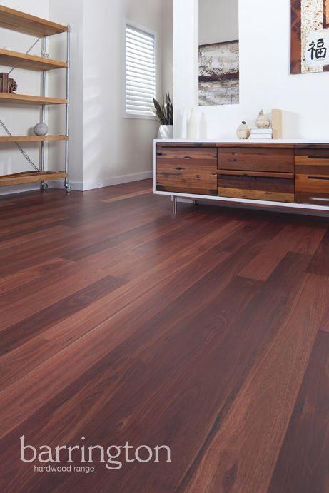 Barrington Hardwoods: Jarrah 127mm wide 8% super matt coating. www.arrowsun.com.au