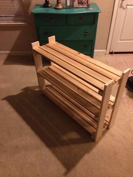 shoe rack plans woodworking woodworking projects plans. Black Bedroom Furniture Sets. Home Design Ideas