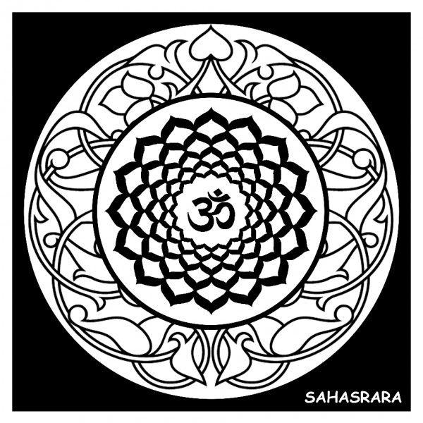 """7 º chakra: Sahasrara o """"chakra de la corona"""""""