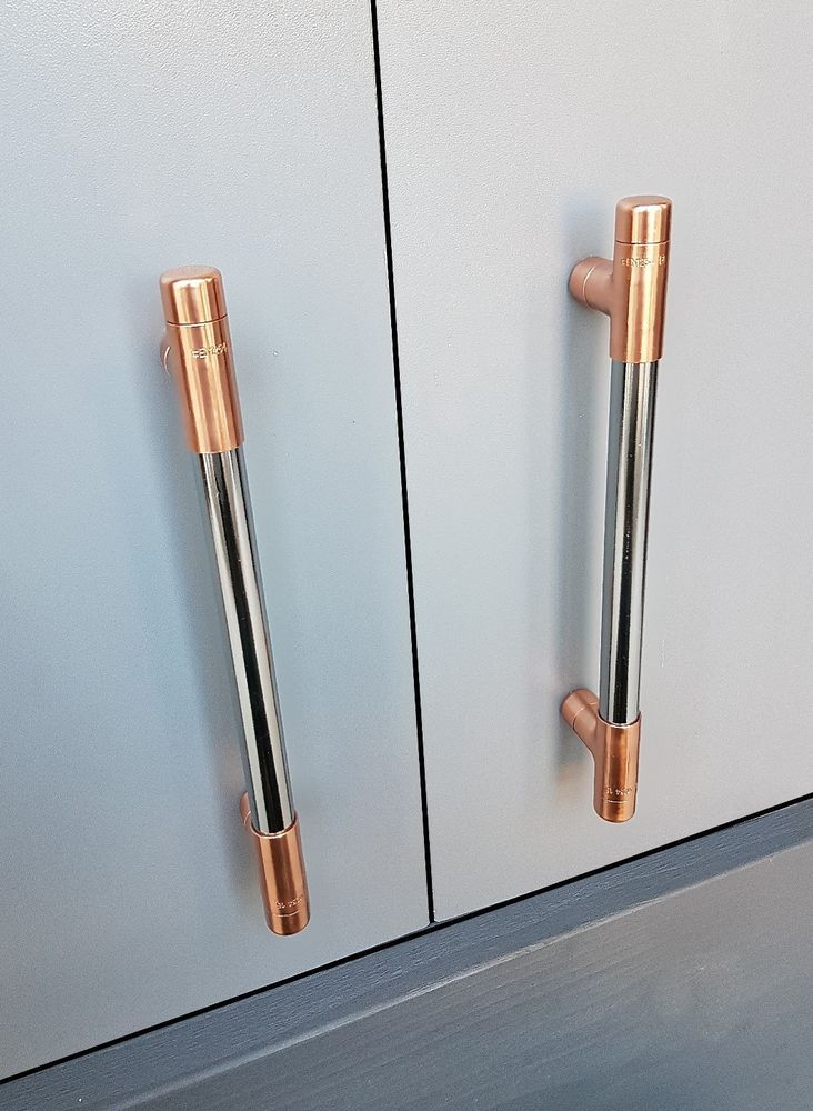 Copper Handles S And Pulls Drawer Rose Gold Kitchen Cupboard Unbranded