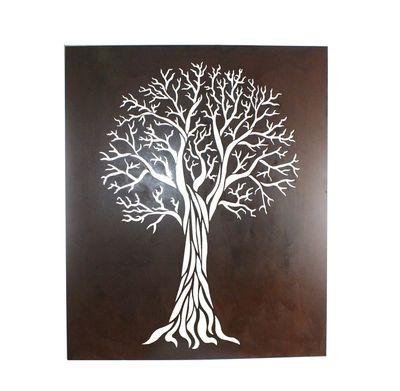 Flame Tree Box wall art